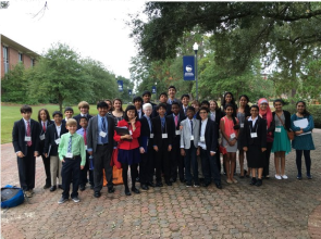 Model UN Team Won 2015 State Distinguished Delegate Award