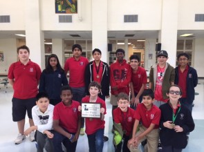 1st Place as a Team in 2015 Luella Math Competition