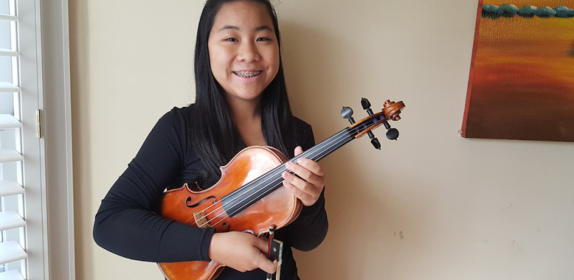 8th Grader, Sophie Chan Selected to 2016 All-State Orchestra
