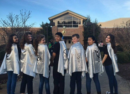 Three of Our Robotics Teams Advanced to 2016 State Finals