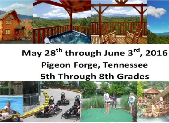 Summer Leadership Camp in Pigeon Forge, Tennessee