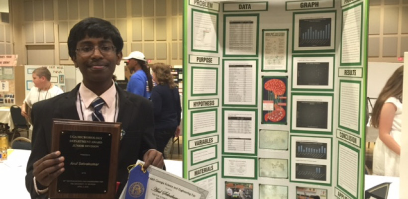 Fulton Science Academy Private School Arul Selvakumar Science Fair