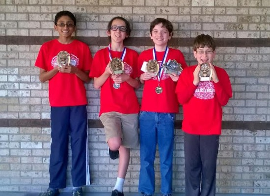 Fulton Science Academy Private School Math State Champions