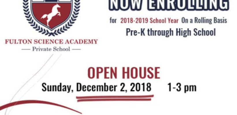 OPEN HOUSE; Sunday, December 2nd